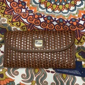 Dooney and Bourke brown wallet